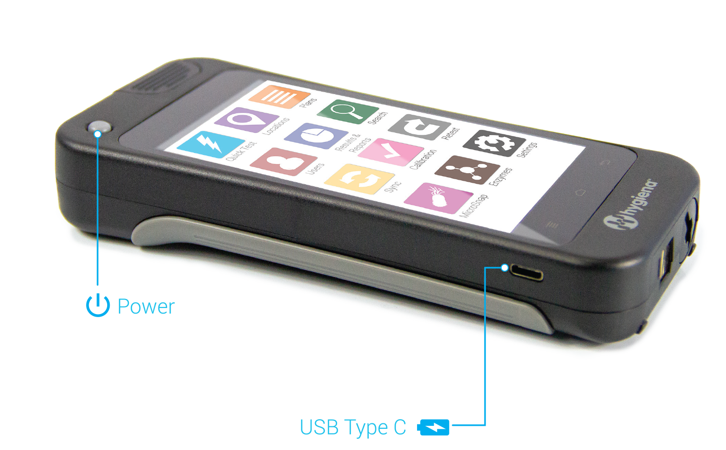 ET power and usb