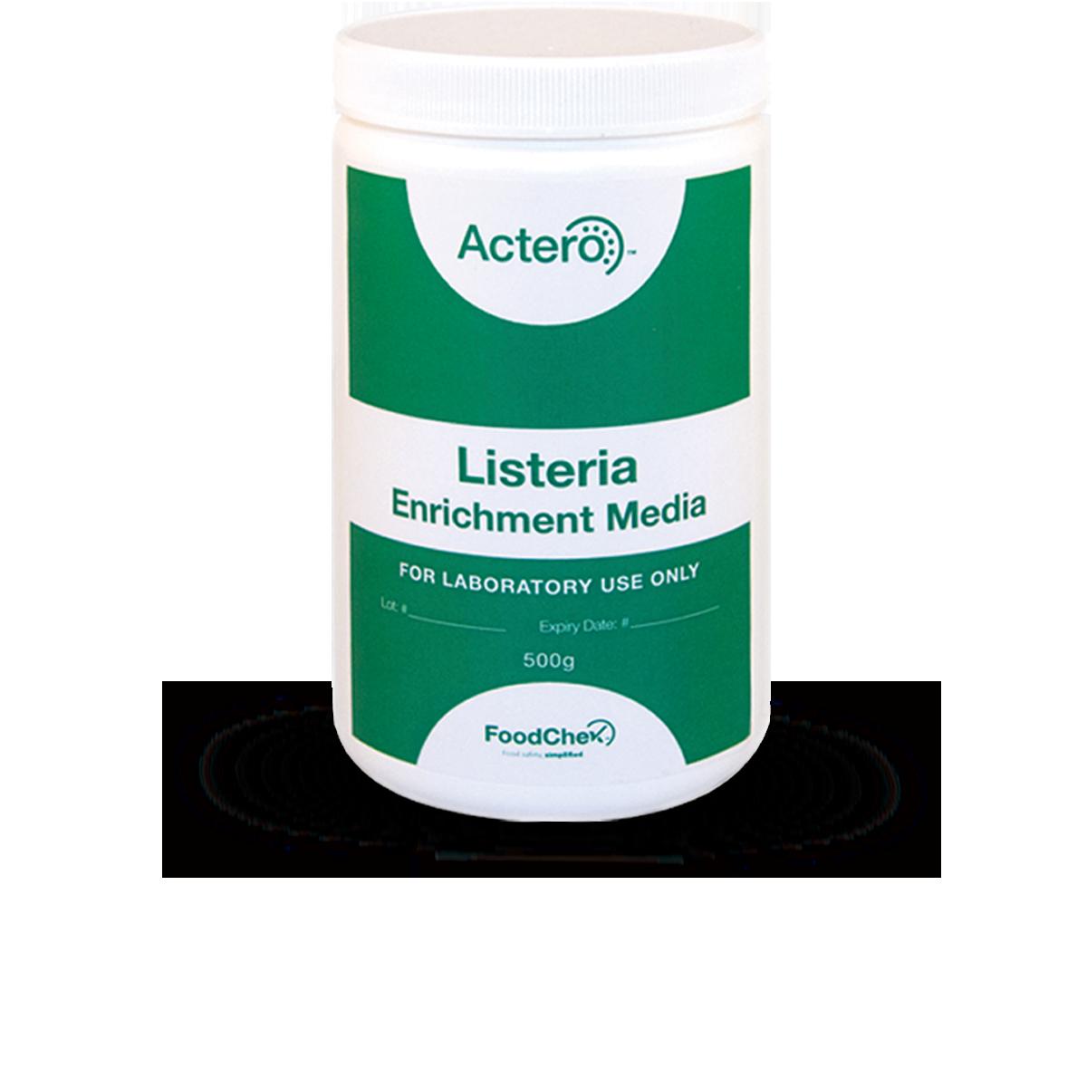 Actero Listeria Elite Enrichment Media