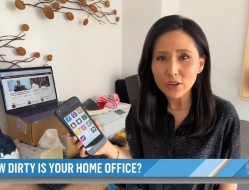 How Dirty Is Your Home Office?